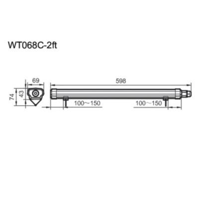 WT068C NW LED18 L600 CFW PSU / WT068C CW LED18 L600 CFW PSU