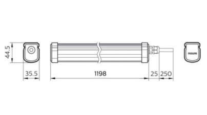 WT035C LED34/NW PSU CFW L1200