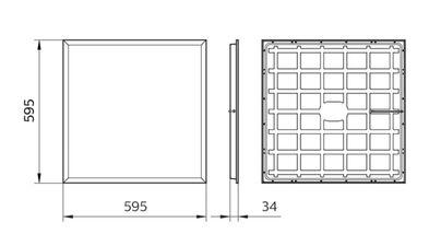 RC048B LED32S/840 PSU W60L60 NOC CFW