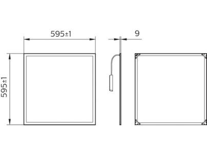SmartBright Slim Panel 600 х 600 mm
