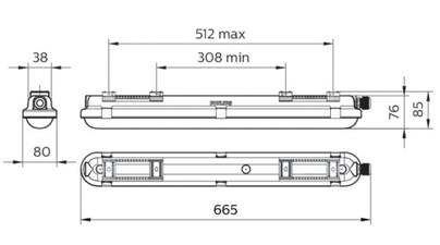 Philips WT120C LED18S/840 PSU L600 | WT120C LED18S/840 PSU L600 RCA