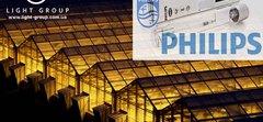 Натрієва лампа ДНаТ для рослин   Philips Master GreenPower